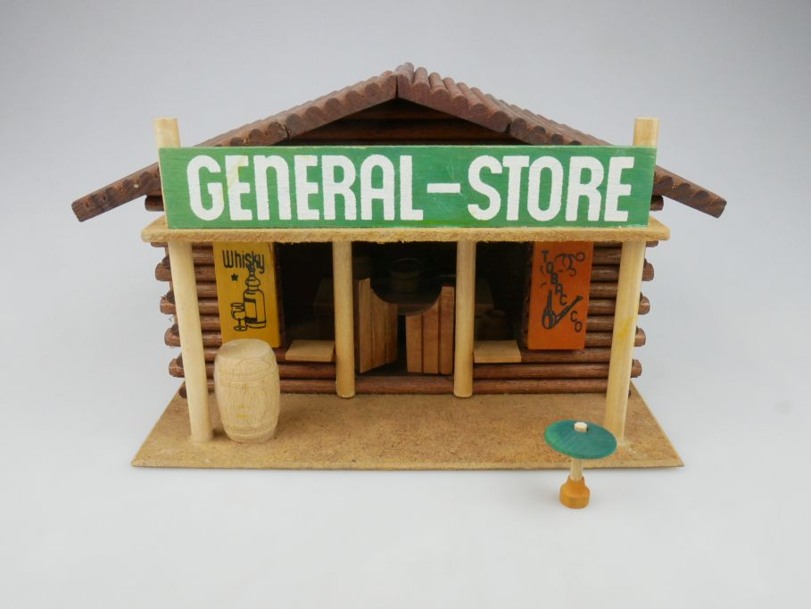 Wild West Western Holz Haus OEHME & Söhne GENERAL STORE 117612