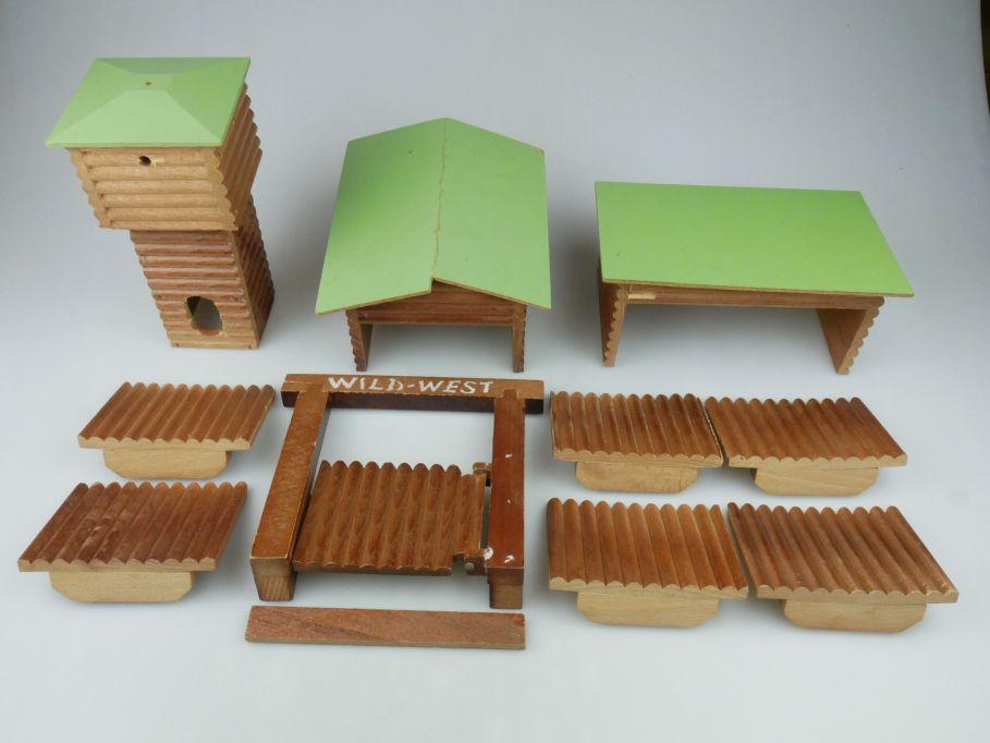 Wild West Western Fort Holz Häuser 117614