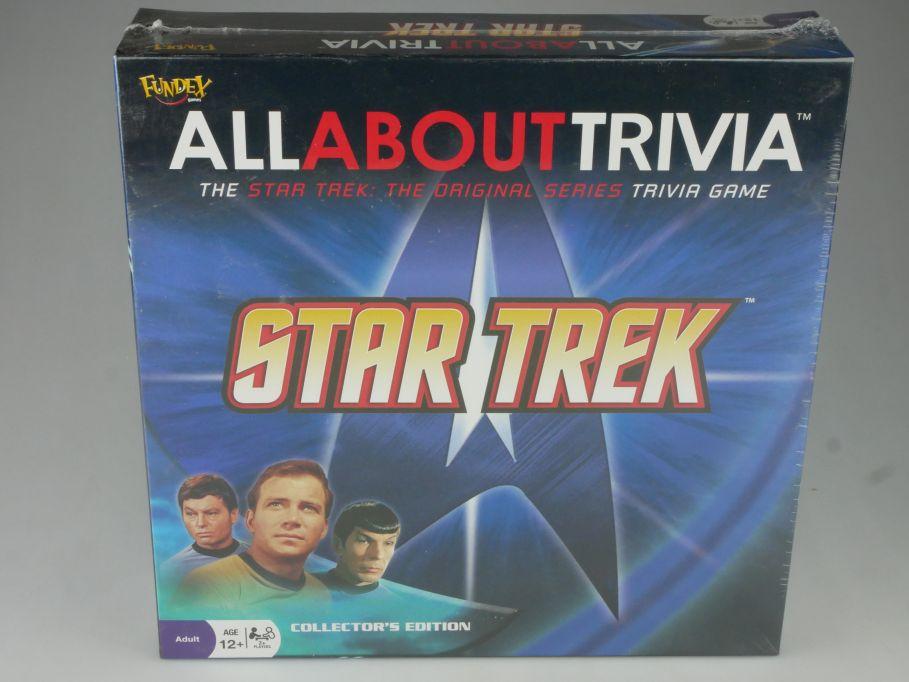 Star Trek Originals Spiel Wissenskarten All About Trivia Game + Box 117847