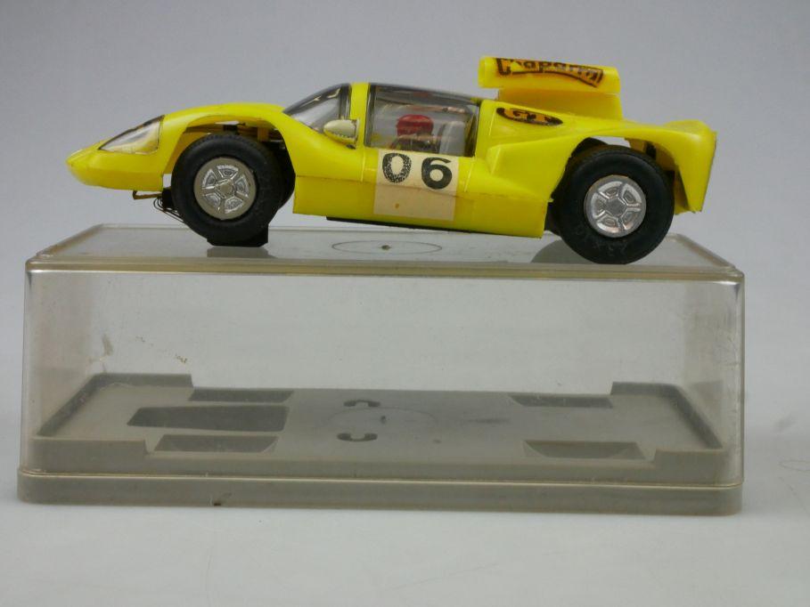 Prefo Autorennbahn Chaparral mit Hutze 06 Rennwagen Slotcar DDR + Box 118081