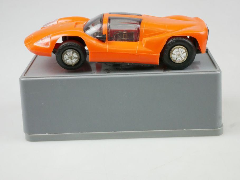 Prefo Autorennbahn 1/32 Chaparral orange slotcar DDR + Box 118082
