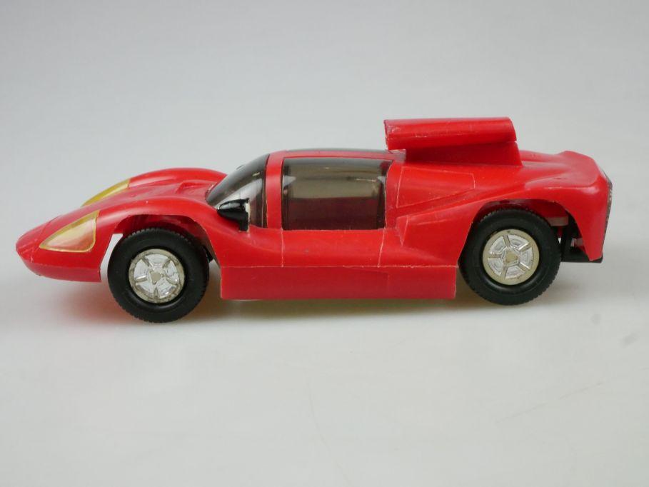 Prefo Autorennbahn 1/32 Chaparral rot mit Hutze DDR + Box 118083